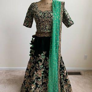 Dresses & Skirts - Wedding/Reception Lengha